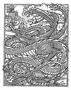 Ausmalbilder Erwachsene Drachen Drachen Ausmalbilder Erwachsene Kinder Ausmalbilder