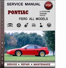 manual repair free 1985 pontiac fiero parking system pontiac fiero service repair manual download info service manuals