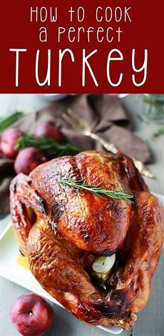 how to cook a perfect turkey easy peasy meals