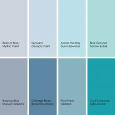 bathed in color when to use blue in the bathroom beachy paint colors beachy colors