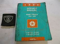 motor auto repair manual 1995 dodge ram 1500 electronic toll collection 1995 dodge ram truck 1500 2500 3500 br service repair shop manual ebay