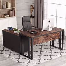 desk furniture home office tribesigns l shaped computer desk 55 inch large