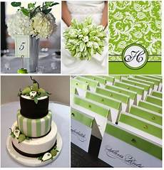 think about a green and white wedding weddings on the