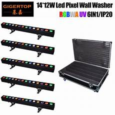 aliexpress com buy stackable 5in1 road case 14x12w 6in1 led wall washer light fixture 25