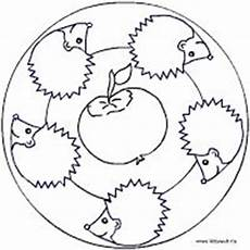 Herbst Ausmalbilder Mandala Malvolage Mais Die Herbstseite Im Kidsweb De Mandala