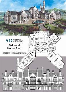 balmoral house plan balmoral house plan in 2020 balmoral house castle house