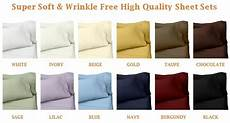 twin xl size super soft wrinkle free high quality sheet sets in 12 colors ebay