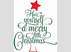 Words To Have Yourself A Merry Little Christmas-Have Yourself A Merry Little Christmas Lyrics