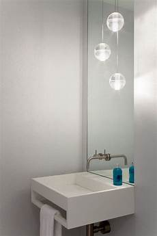 lovely contemporary pendant light bathroom with recessed