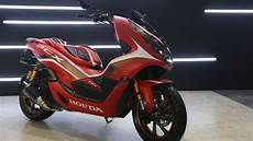 Modifikasi Honda Pcx 150 Touring by Modifikasi All New Honda Pcx 150 Bergaya Si Setan Merah