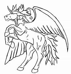 Malvorlagen Wings Unicorn Coloring Pages Of Unicorns With Wings Www Pixshark
