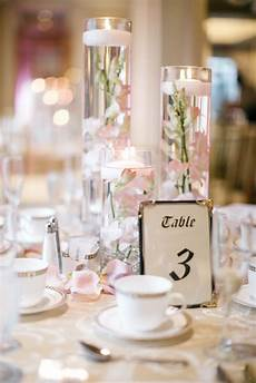 by the knot reception details candle wedding centerpieces blush wedding centerpieces
