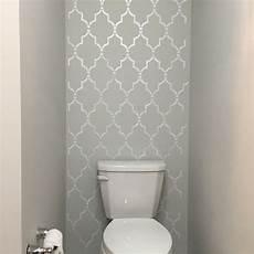bathroom wall stencil ideas marrakech trellis allover stencil in 2019 bathroom accent wall bathroom accents bathroom
