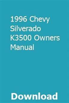 online auto repair manual 1996 geo prizm engine control 1996 chevy silverado k3500 owners manual chevy silverado 1996 chevy silverado chevy