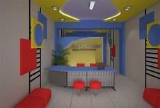 Desain Interior Resepsionis Dan Ruang Kerja Kantor