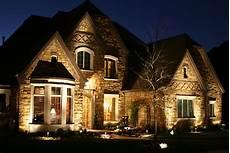 Lights Outside House