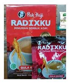 Kopi Radix Hpa Pak Haji Hpa Internasional Indonesia Pak