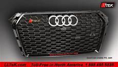 lltek rs sport grills for audi s4 cars 1996 2017
