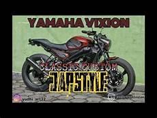 Japstyle Vixion by Modifikasi Yamaha Vixion Semi Japstyle 2018