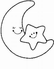 Malvorlage Sterne Und Mond Ausmalbilder Mond 17 Ausmalbilder Gratis