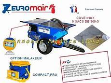 projeteuse 224 enduit europro compact pro 30 euromair negoce