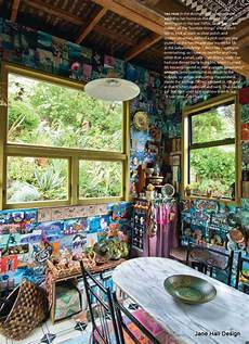 Home Decor Ideas Nz by This Bohemian Style Home Of An Artist Was Featured In New