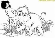 mowgli y hathi junior dibujos disney