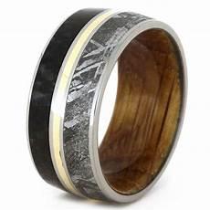 jewelry by johan meteorite and dinosaur bone wedding ring