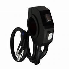 Zwei Len Ein Schalter - daytona cnc universal switch moto guidon interrupteur noir