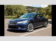 2014 Honda Accord Hybrid Review   YouTube