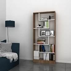 librerie soggiorno libreria moderna per soggiorno noce e bianco almira