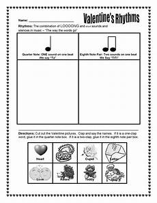 s day worksheets elementary 20348 the sweetest melody s day rhythm activity ta and titi