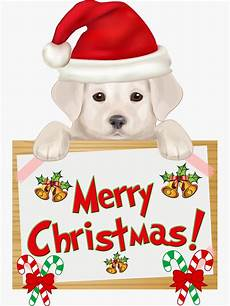 quot merry christmas yellow labrador retriever puppy especially for lab owners quot sticker by rs
