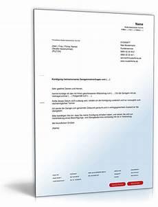 Kündigung Mietvertrag Vorlage Garage by Fristgem 228 223 E K 252 Ndigung Mietvertrag Garage Durch Mieter