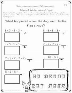 repeated addition arrays worksheets activities and lesson plans