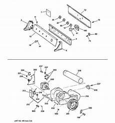 ge electric dryer parts diagram ge electric dryer parts model dwxr483eb3ww sears partsdirect