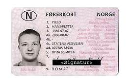 Driving Licence In Norway  Wikipedia