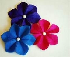 filzblumen selber machen make itself felt flowers creative craft ideas felt