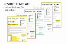 resume template creative resume templates creative market