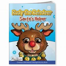 mask coloring book rudy the reindeer goimprints