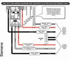 how to wire a tub diagram gfci trips immediately