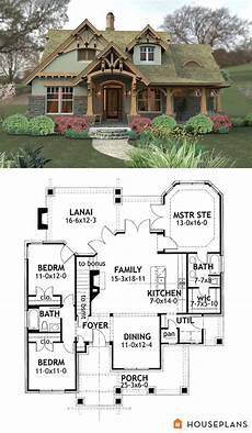 mountainside house plans craftsman mountain house plan and elevation 1400sft