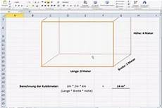 Berechnung Der Kubikmeter So Geht S