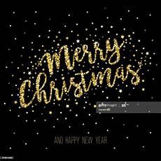 merry christmas glitter black background high res vector graphic getty images