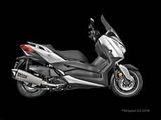 akrapovic f 252 r den yamaha x max 400 2018 motorrad news