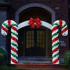 Decorations Outdoor Sale by Peppermint Pre Lit Archway Bow