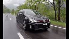 vw golf 6 gti driving acceleration and sound