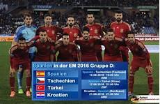 Tabelle Em Gruppe D Em 2016 Wer Kommt Weiter Cze Cro