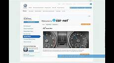car net portal volkswagen car net setting a speed alert from the web