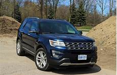 Suv Review 2017 Ford Explorer Limited Driving